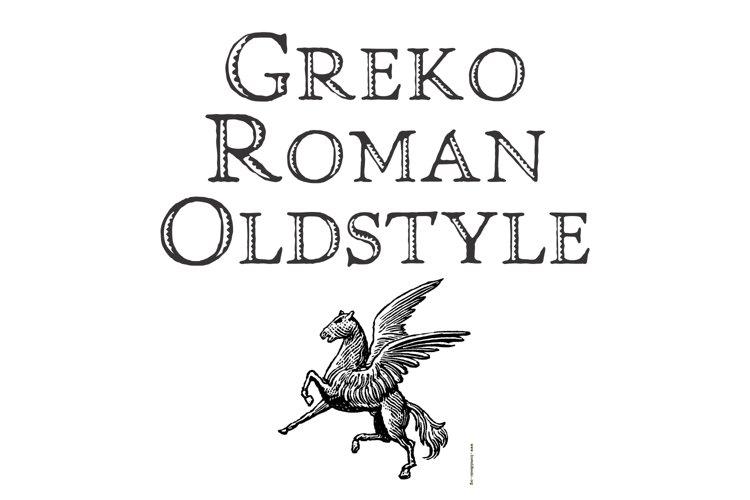 Greko Roman Oldstyle example image 1