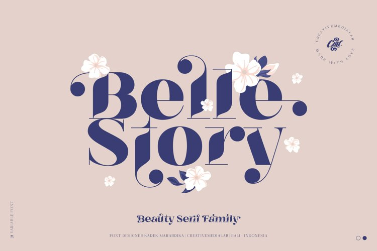 Belle Story - Beauty serif family example image 1