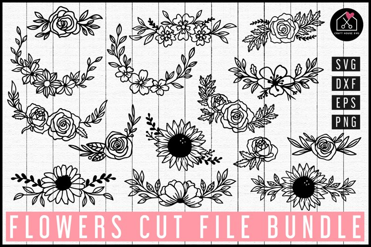 Flowers SVG Bundle|MB101