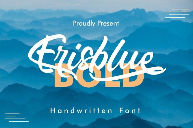 Erisblue Bold example image 1