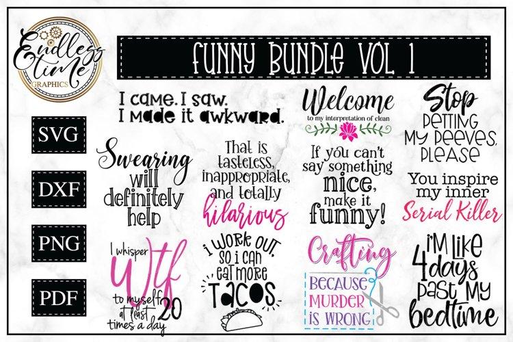 Funny SVG Bundle - 11 Coffee SVG or Sublimation Designs