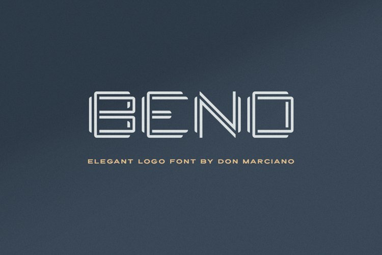 Bend Logo Font example image 1