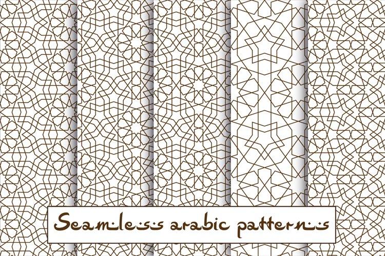 Seamless pattern based on traditional islamic art.