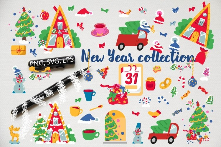 New Year collection example image 1