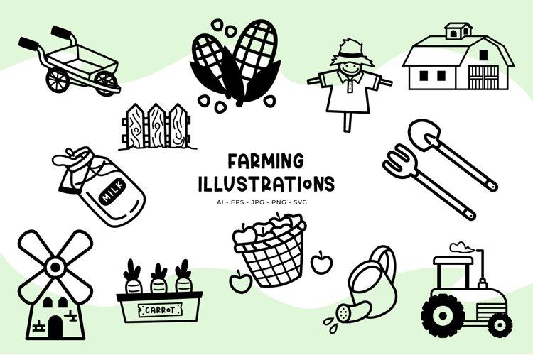 Farming illustrations example image 1