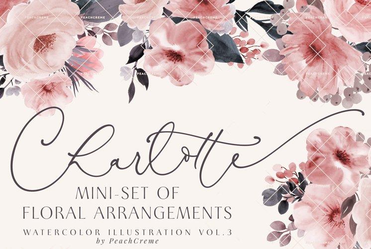 Charlotte // Mini Set of Floral Arrangements example image 1