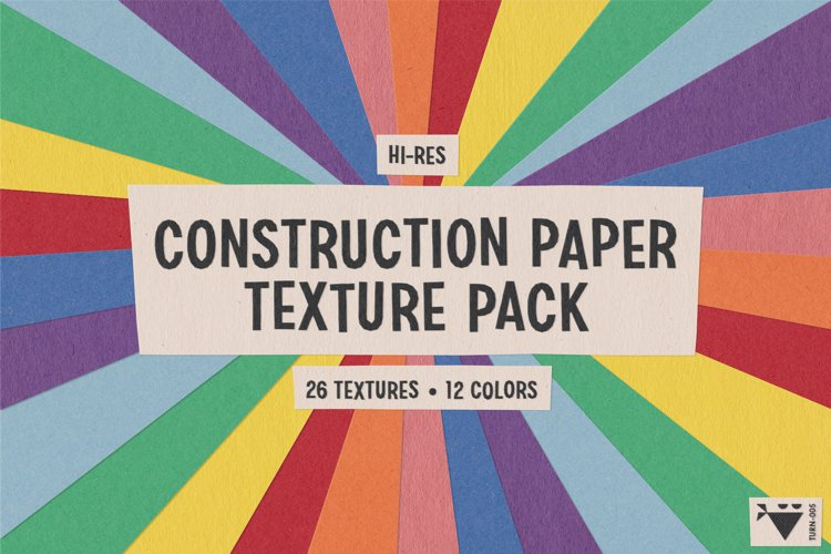 Construction Paper Texture Pack example image 1