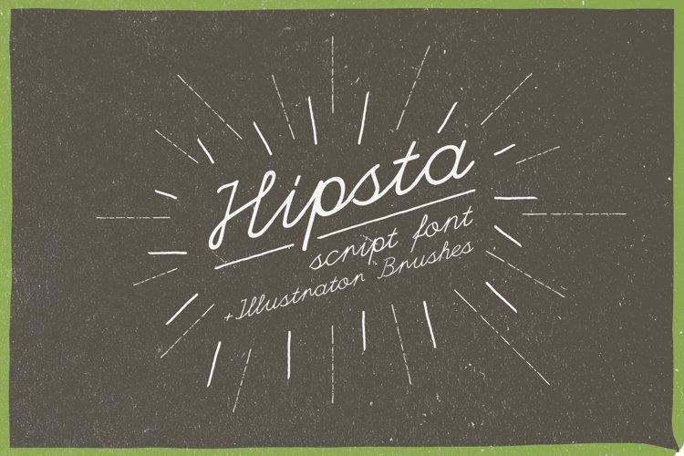 Hipsta Script example image 1