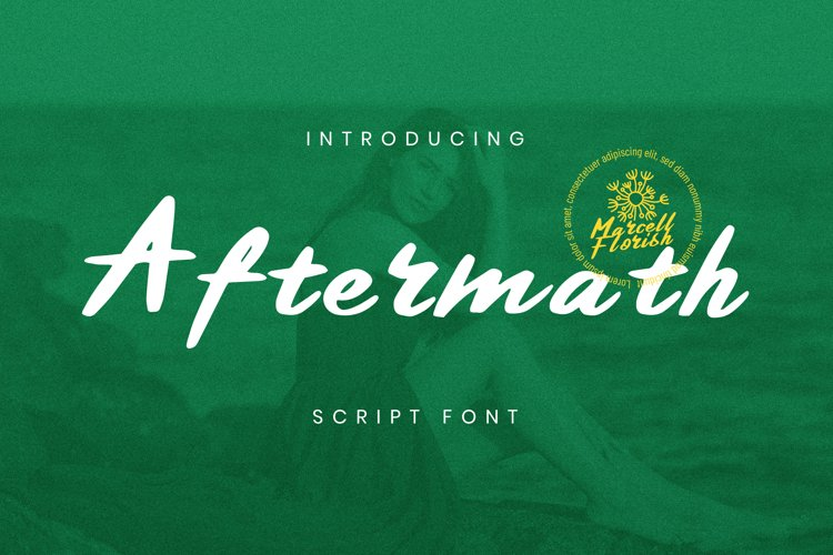 Aftermath Font example image 1