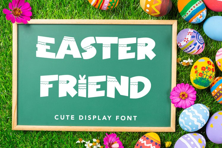 Easter Friend - Cute Display Font example image 1