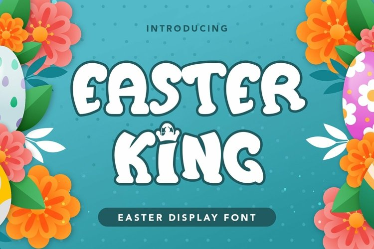 Web Font Easter King - Easter Display Font example image 1