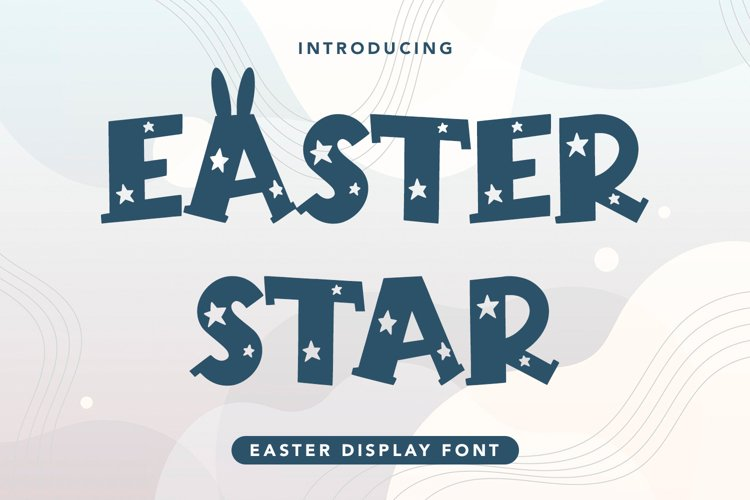Easter Star - Easter Display Font example image 1