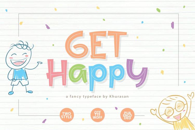 Get Happy example image 1