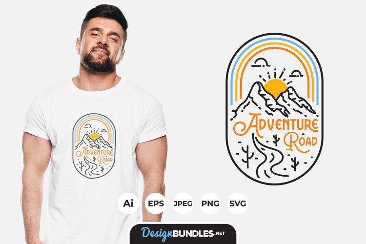 Adventure Road Tripper for T-Shirt Design example image 1