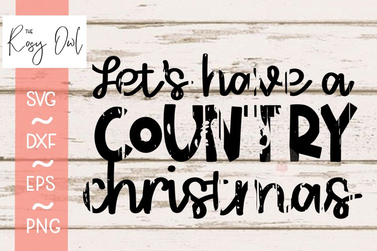 Country Christmas Distressed Svg Png Dxf Eps 742414 Cut Files Design Bundles