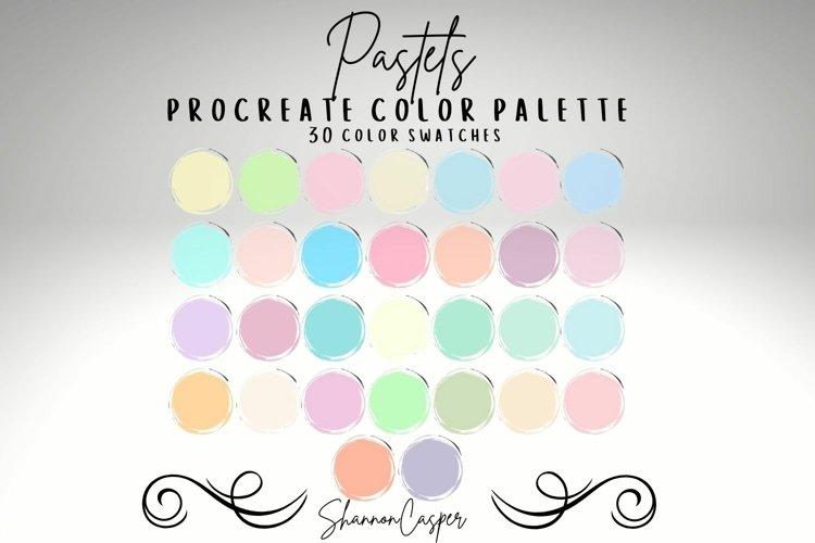 Pastels Procreate Color Palette example image 1