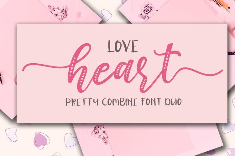 Love Heart / Beauty Combo example image 1