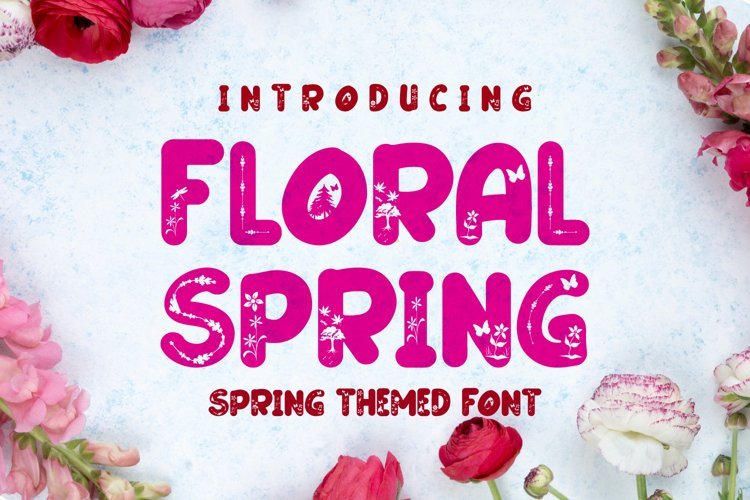 Floral Spring example image 1