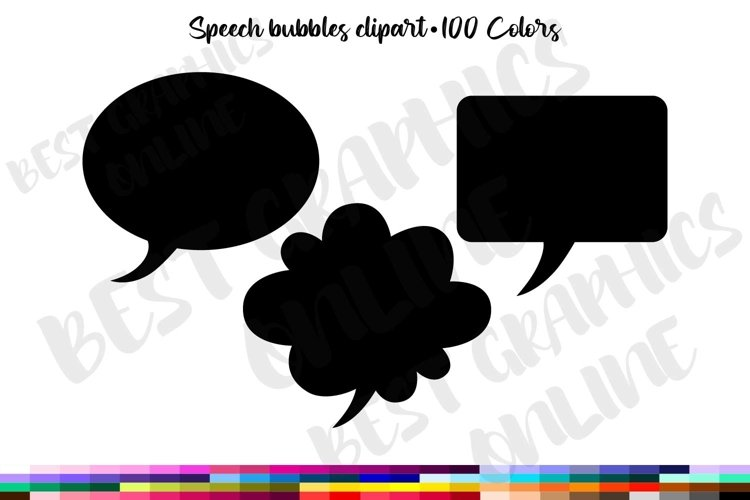 300 Speech bubble clipart, Text bubbles clipart Comics text