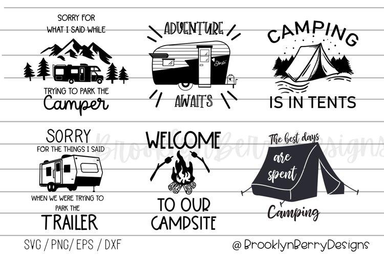 Camping Bundle - Camping Shirts SVGs