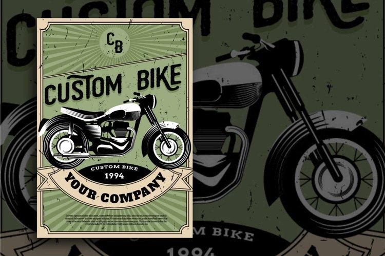 custom bike Flyer example image 1