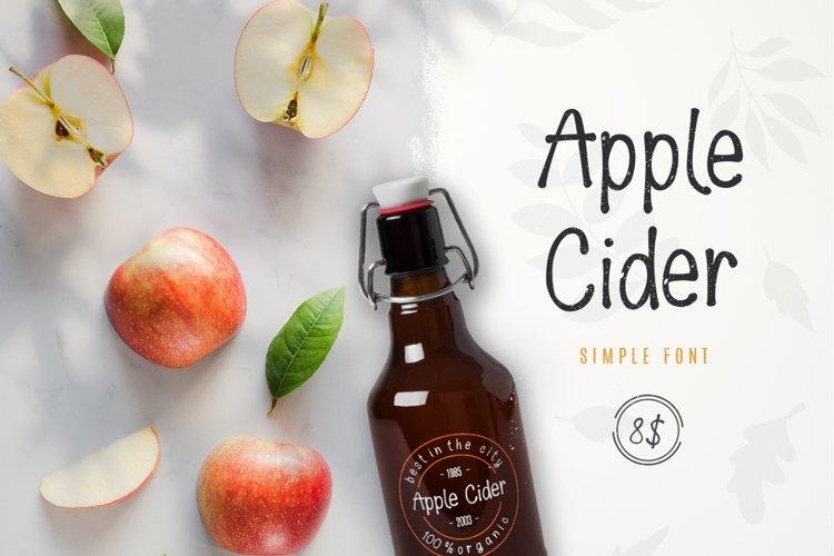 Apple Cider Font example image 1