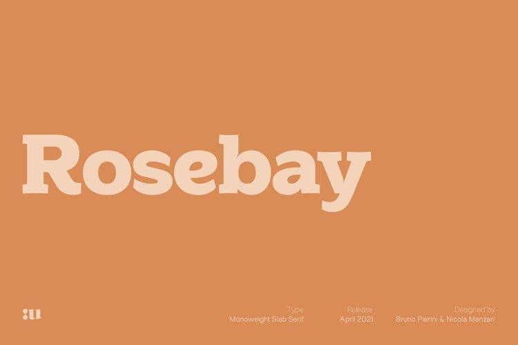 Rosebay Slab