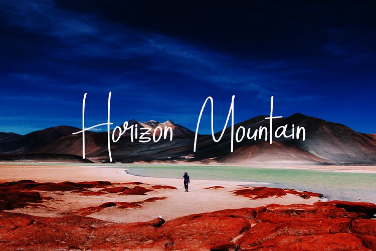 Horizon Mountain example image 1