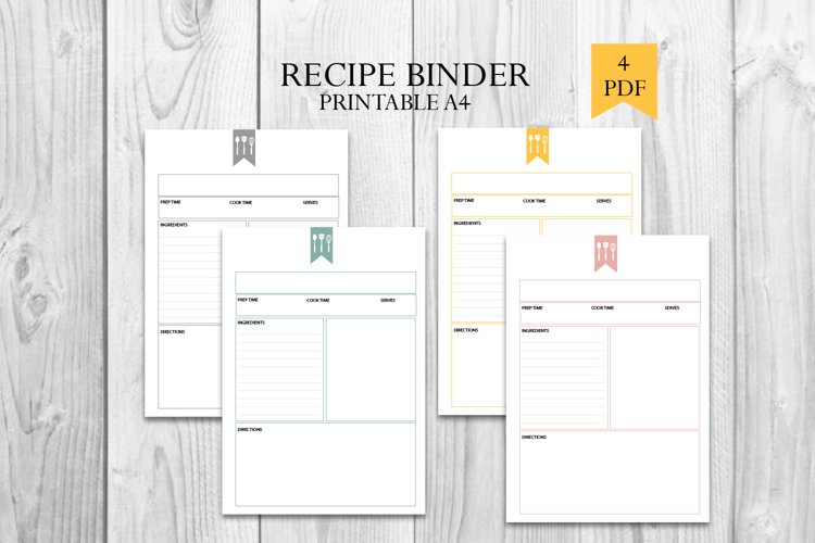 Cookbook, Recipe book