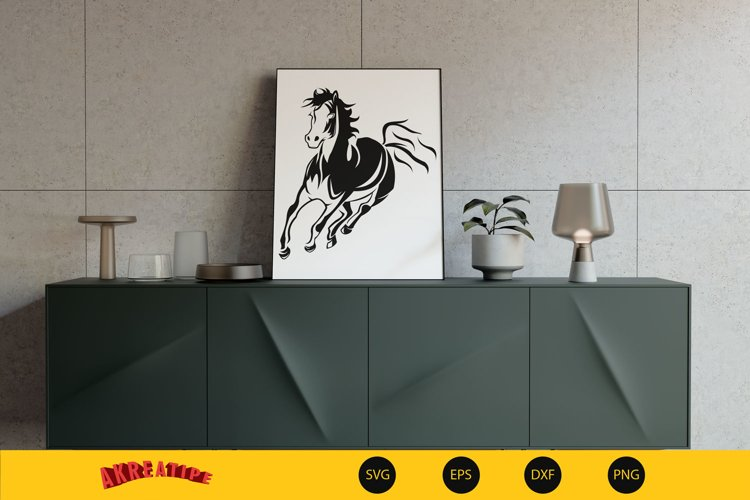 Horse SVG example image 1