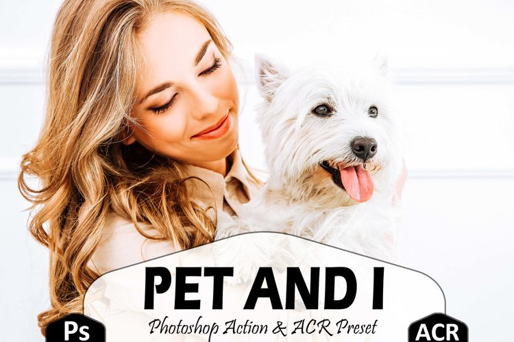 10 Pet And I Photoshop Actions And ACR Presets, Animal Ps example image 1