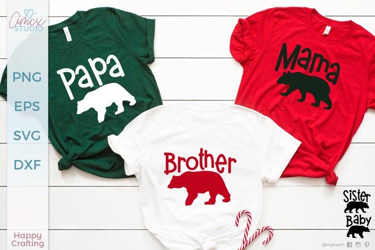 Bear Family Cut Files - Family Bear Designs
