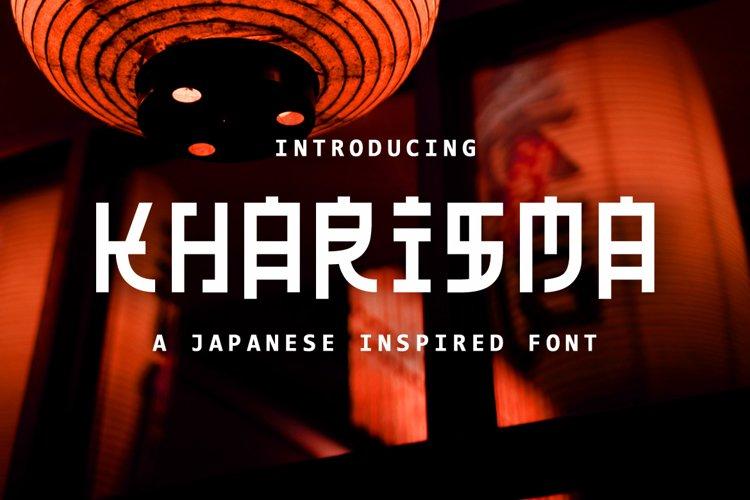 Kharisma - Japanese Inspired