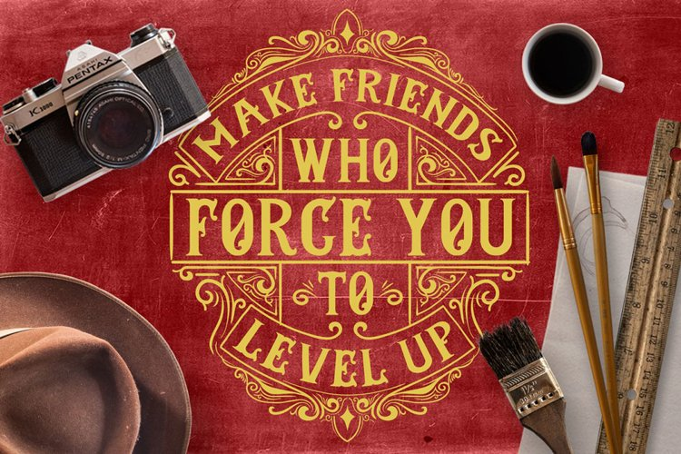 Make Friends Who Force You example image 1
