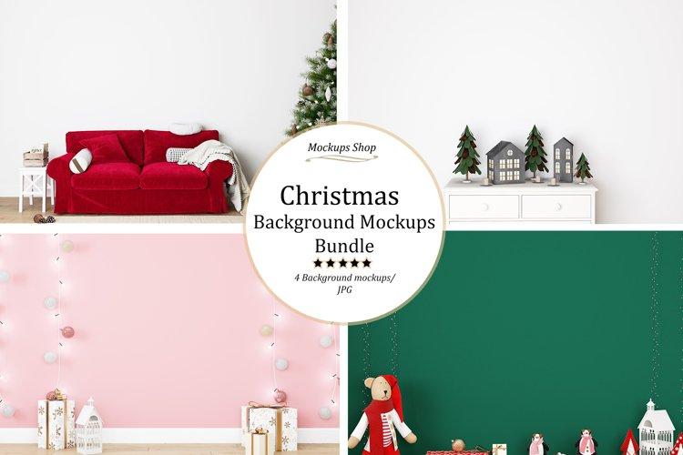 Christmas Frame Mockup Bundle \7 example image 1