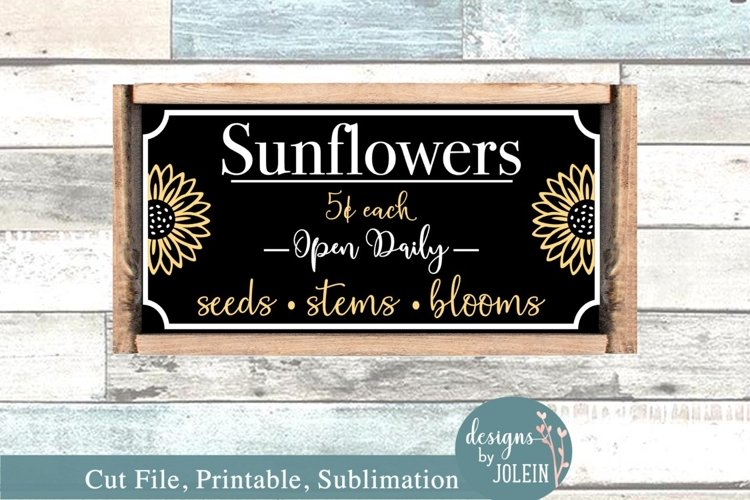 Sunflower Market - SVG, Sublimation, Printable example image 1