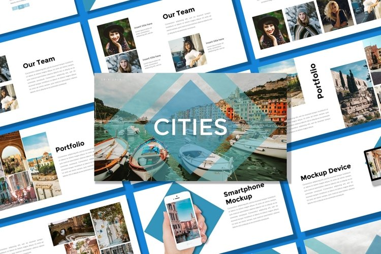 Presentation Templates - Cities example image 1