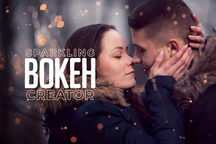 Sparkling Bokeh Overlays Creator example image 1