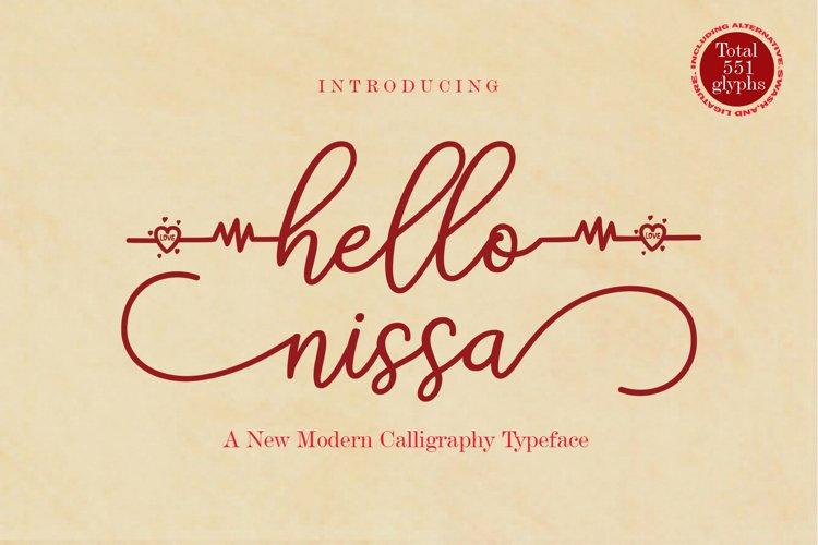 hello nissa example image 1