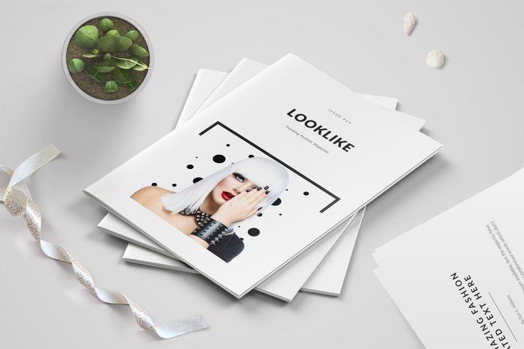 Fashion Magazine/Lookbook Template