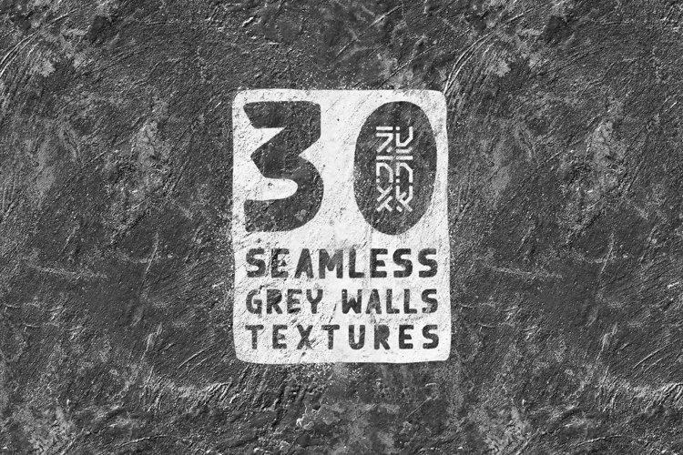 30 Seamless Grey Walls Textures
