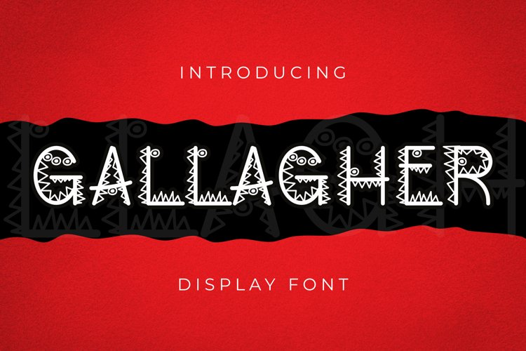 Gallagher Font example image 1