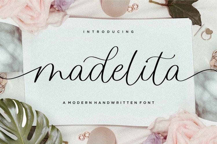 madelita Modern Handwritten Font example image 1