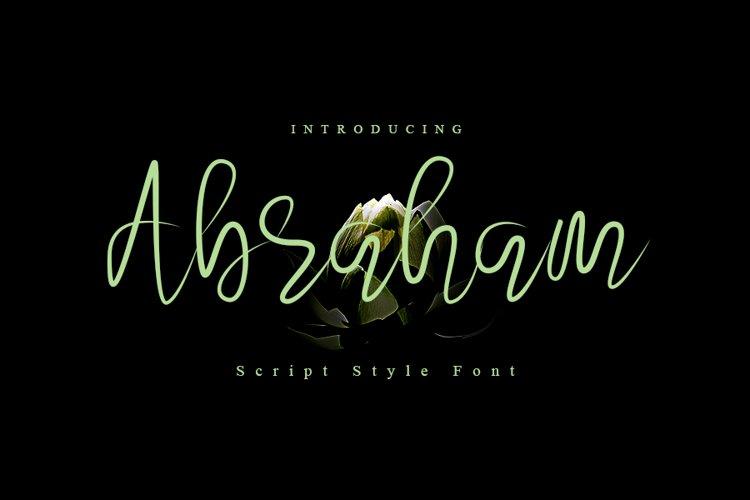 Abraham example image 1