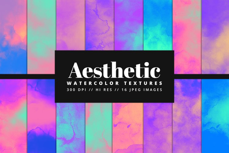 Aesthetic Watercolor Texture Pack