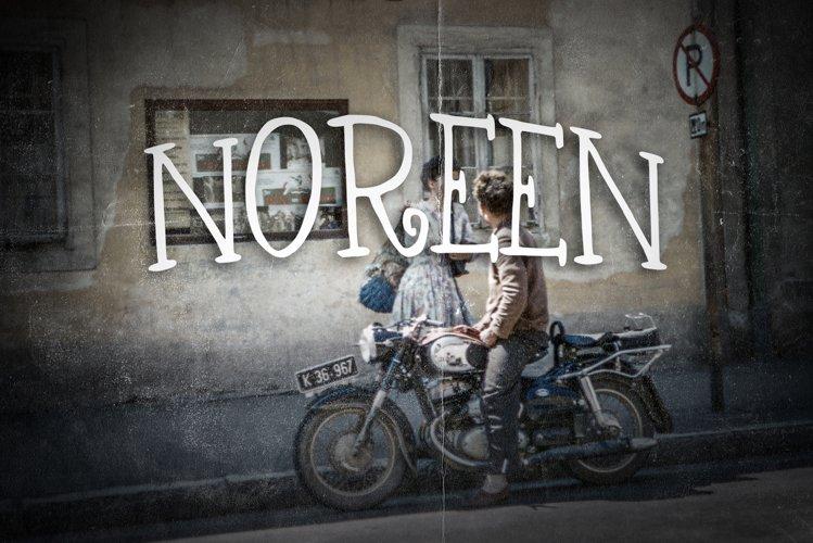 Noreen Vintage Font