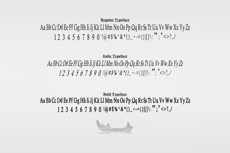 Heulgeul Typeface Family example 4