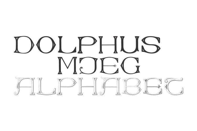 Dolphus-Mieg Alphabet example image 1