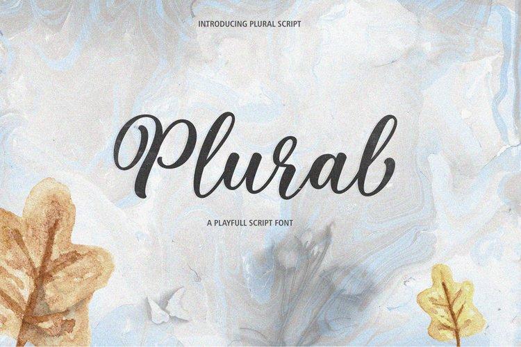 Plural Script example image 1