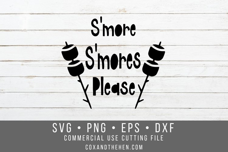 S'more S'mores Please SVG example image 1